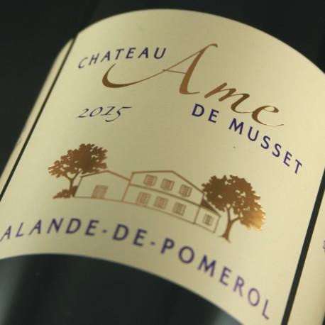 Château Ame de Musset 2015