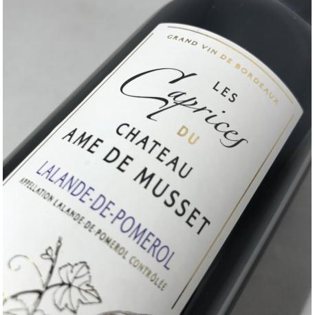 """""""Les Caprices"""" du Château Ame de Musset 2012"""